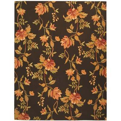 Isabella Brown Novelty Area Rug Rug Size: 39 x 59