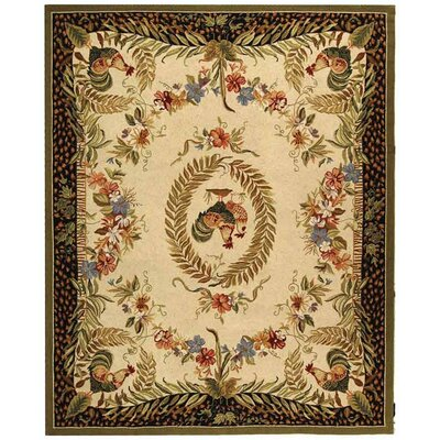 Isabella Chicken Novelty Area Rug Rug Size: 79 x 99