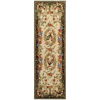 Isabella Chicken Novelty Area Rug Rug Size: Runner 26 x 8