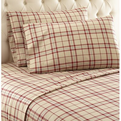 Georgette Sheet Set Size: King, Color: Tan
