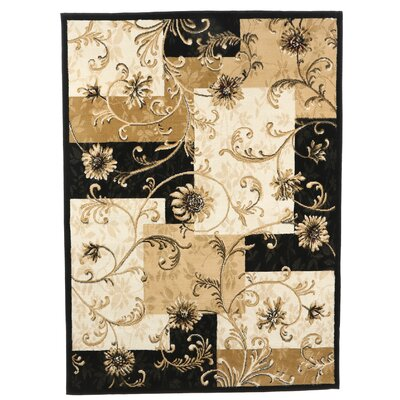 Bertie Beige Area Rug Rug Size: Rectangle 52 x 72