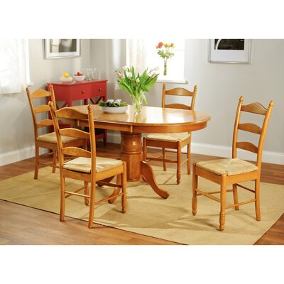 Esperanza 5 Piece Dining Set Finish: Oak