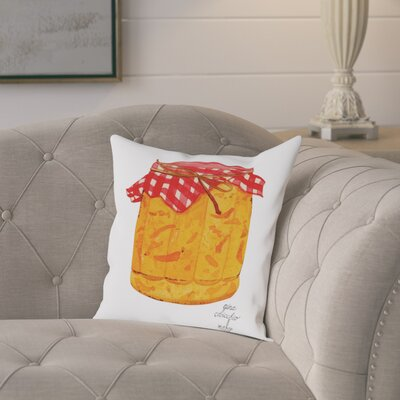 Gina Maher Nicholson Marmalade Throw Pillow Size: 18 H x 18 W x 2 D