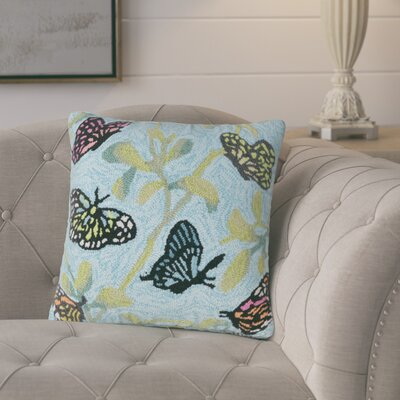 Ismay Butterfiles on Tree Indoor/Outdoor Throw Pillow