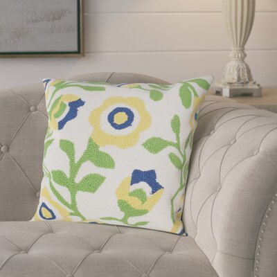 Garnett Outdoor Throw Pillow Color: Sunshine