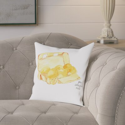 Gina Maher Elena Egg Carton Throw Pillow Size: 20 H x 20 W x 2 D