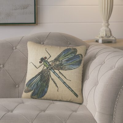 Durham Burlap Throw Pillow