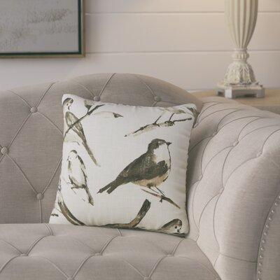 Eldora Cotton Throw Pillow Size: 16.5 H x 16.5 W x 5 D