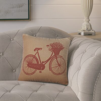 Superior Burlap Throw Pillow