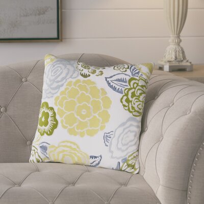 Claudia Flowers of the Valley Throw Pillow