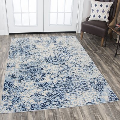 Francine Ivory Area Rug Rug Size: Rectangle 710 x 1010
