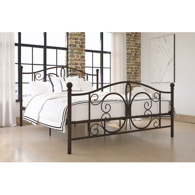 Bombay Platform Bed Size: Twin, Finish: Bronze