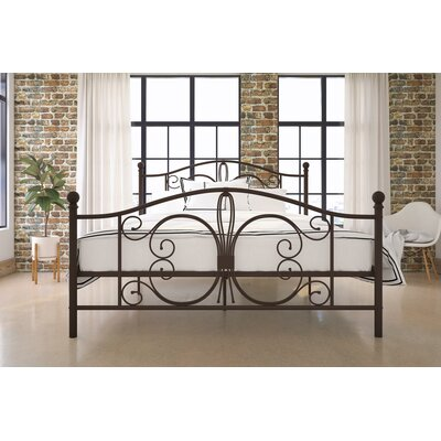 Bombay Platform Bed Size: Twin, Color: Bronze