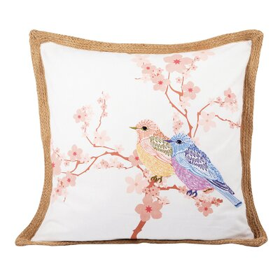 Lora Cotton Throw Pillow