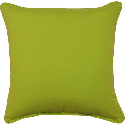 Aitana Outdoor Throw Pillow Color: Lime