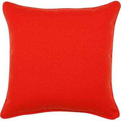Gabin Outdoor Throw Pillow Color: Mojo