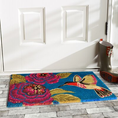 Gaetan Hummingbird Delight Doormat