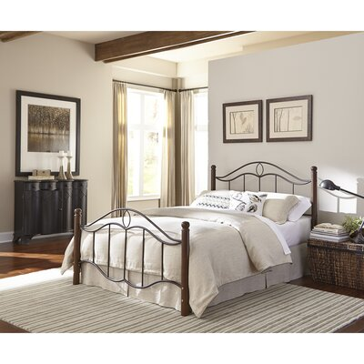 Gaspard Panel Bed Size: King