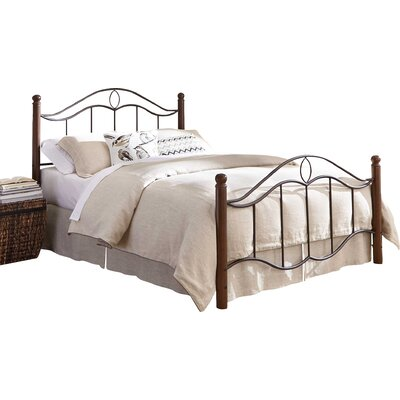 Gaspard Panel Bed Size: California King