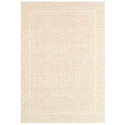 Somme Champagne Rug Rug Size: Rectangle 53 x 76