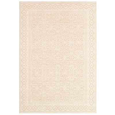 Somme Champagne Rug Rug Size: 92 x 129