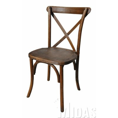Gwendoline Cross Back Weathered Style Chair