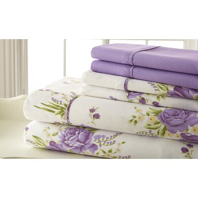 Hyacinthe Polyester Sheet Set Size: Twin
