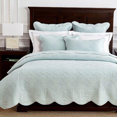 Lafollette Luxury Quilt Size: Queen, Color: Light Aqua
