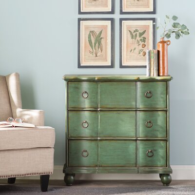 Hiram 3 Drawer Chest