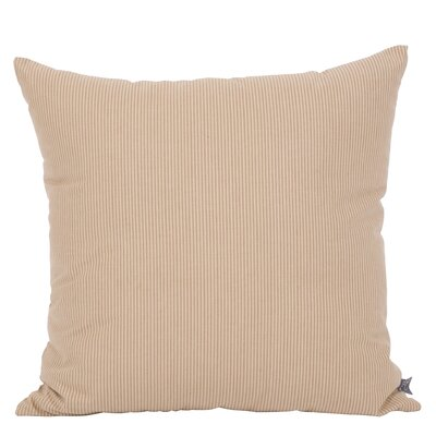 Dounia Throw Pillow Color: Walnut