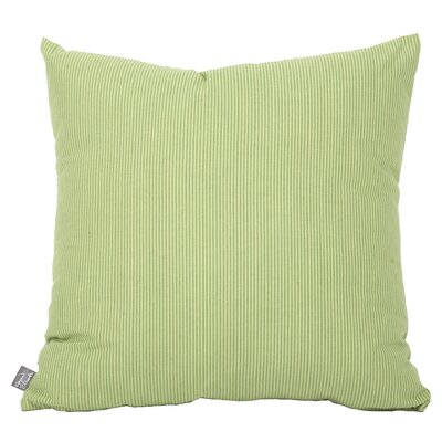 Dounia Throw Pillow Color: Apple - Green