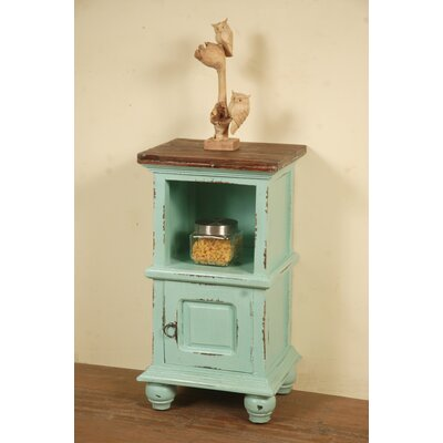 Tompkins Cottage End Table Finish: Light Green