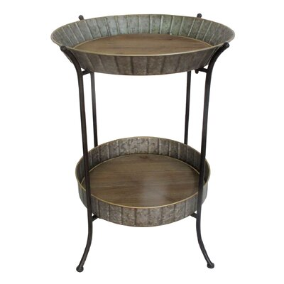 Edna Metal Tray Table