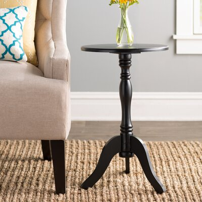 Fay End Table Color: Black