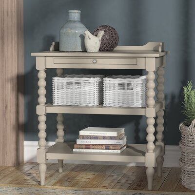 Rosie Open Nightstand Finish: Dove Gray