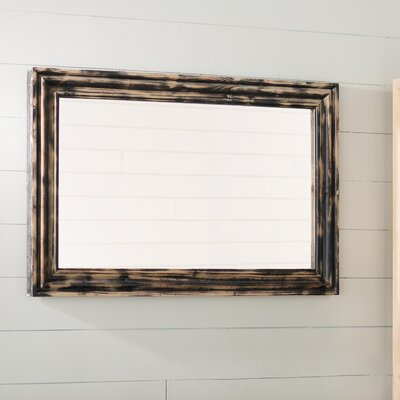 Rectangle Ash Wall Mirror