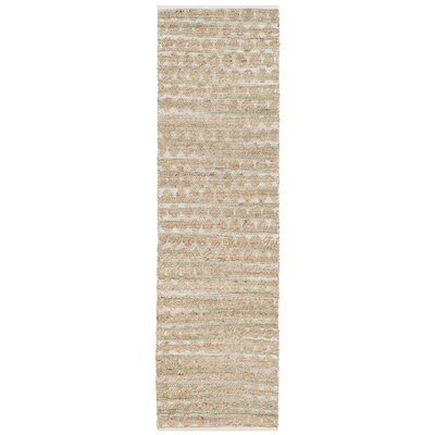 Zap Hand-Woven Brown Area Rug Rug Size: Runner 23 x 8