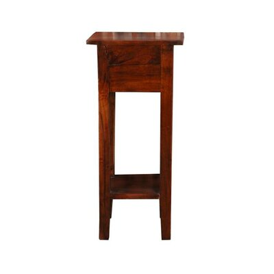 Abigail End Table Finish: Brown