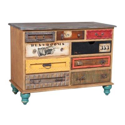 Senneterre 9 Drawer Standard Dresser