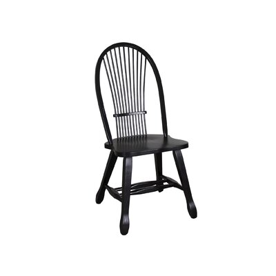 Artemps Side Chair (Set of 2) Finish: Black
