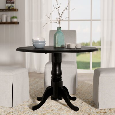 Josephina Extendable Dining Table Color: Antique Black