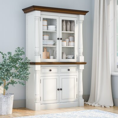 Giulia China Cabinet Finish: White