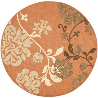 Laurel Contemporary Rug Rug Size: Round 53