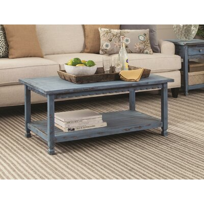 Mangum Coffee Table Color: Blue