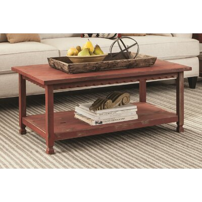Mangum Coffee Table Color: Red