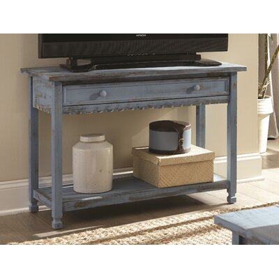 Bernardsville Console Table Finish: Blue