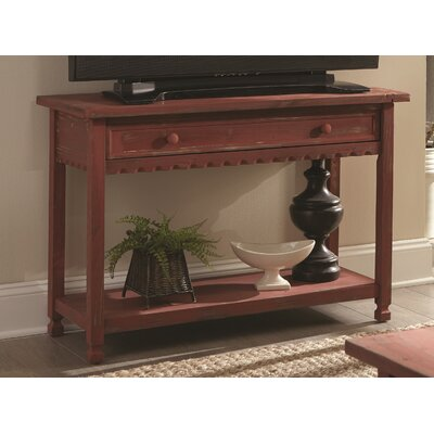 Bernardsville Console Table Finish: Red