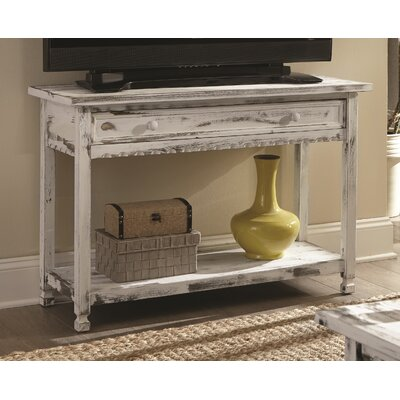 Bernardsville Console Table Finish: White