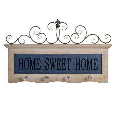 Home Sweet Home Wall Mounted Coat Rack ATGR3767 28385687
