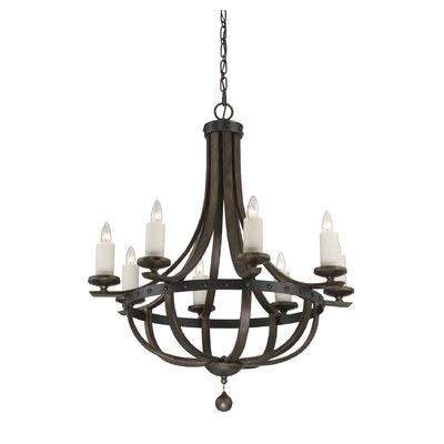 Wilburton 8-Light Candle-Style Chandelier